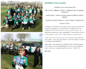 Bradfield Cross Country