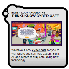 Think You Know Cyber Cafe
