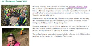Yr 1 Discovery Centre Visit(1)